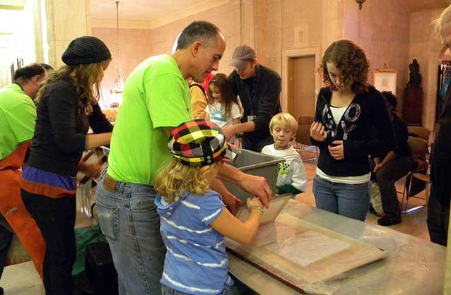 Papermaking Demonstration